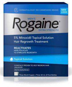 tratamento para 3 meses para homens minoxidil rogaine