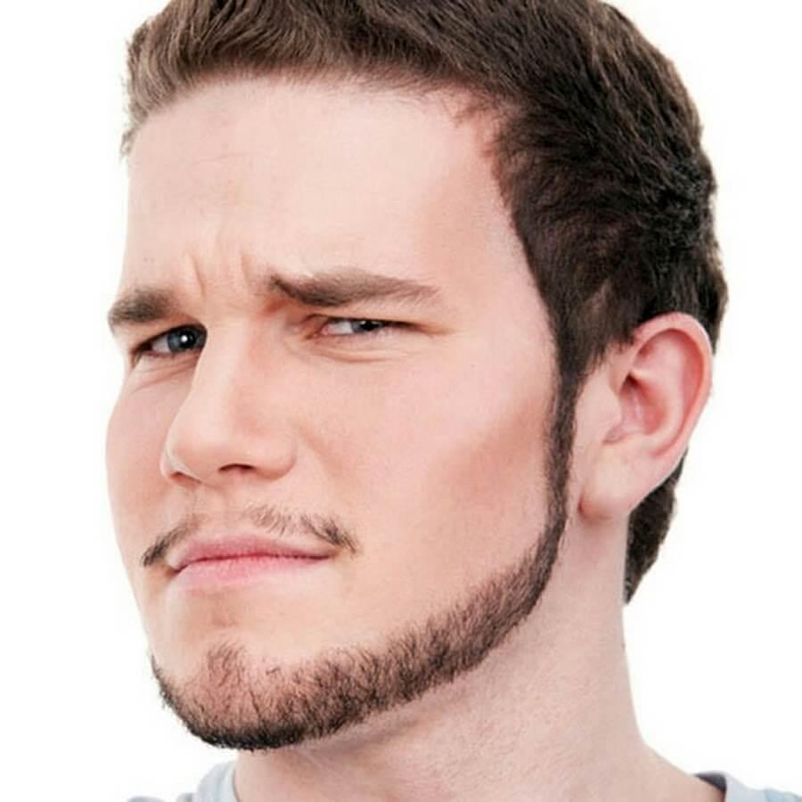 modelo de barba ancora