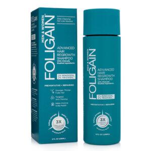 shampoo com minoxidil e trioxidil