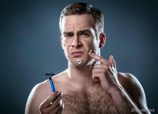 Barbeador usado