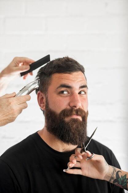 barba comprida