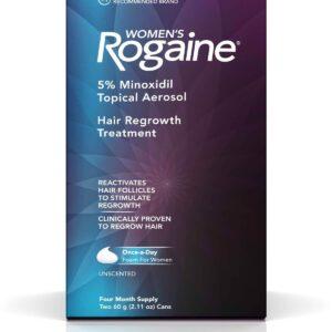 minoxidil 5% rogaine espuma para mulheres