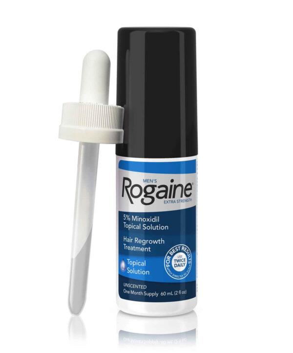 frasco de minoxidil 5% rogaine