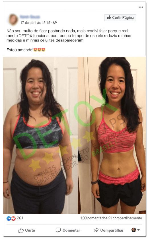 anonima antes e depois detox caps