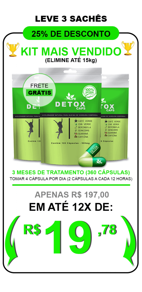 detox caps fotos