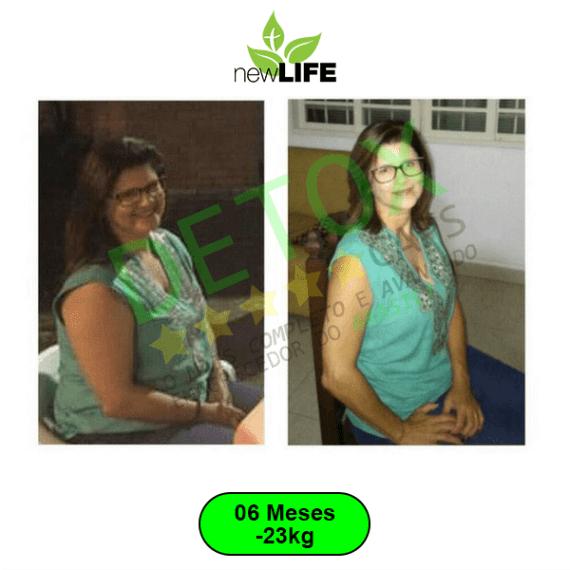 antes e depois seis meses detox caps