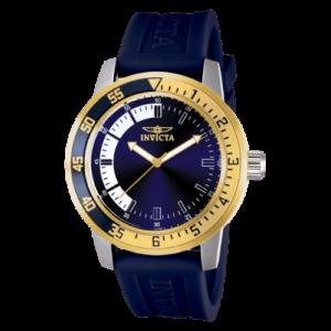 imagem em destaque relogio invicta 12847 pulseira azul
