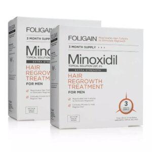 comprar foligain minoxidil tratamento de 6 meses para homens