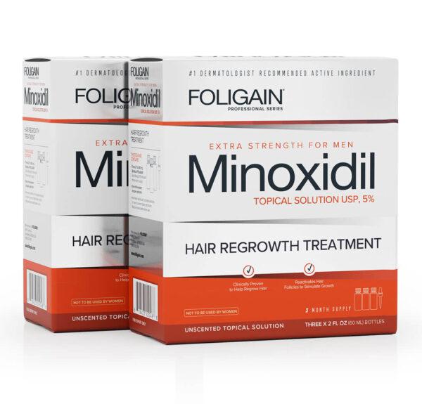comprar foligain minoxidil tratamento de 6 meses para homens nova embalagem
